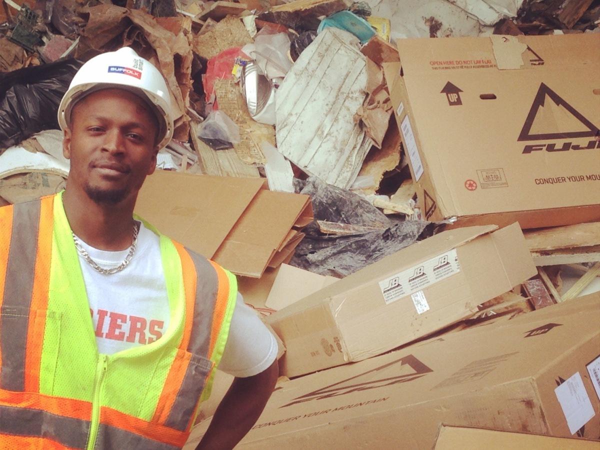 LeRoy Watkins at the Boston dump